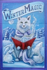 library-winter-magic