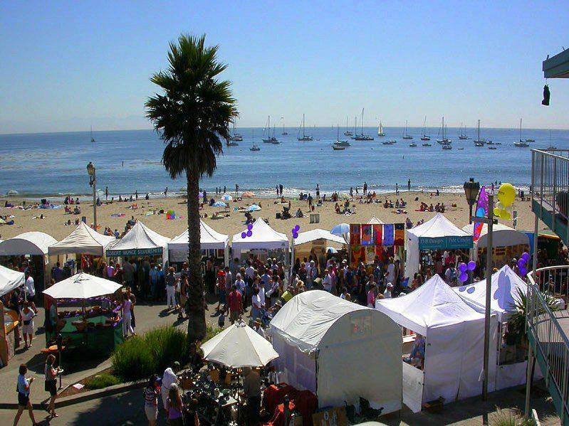 capitola-beach-art-on-the-beach