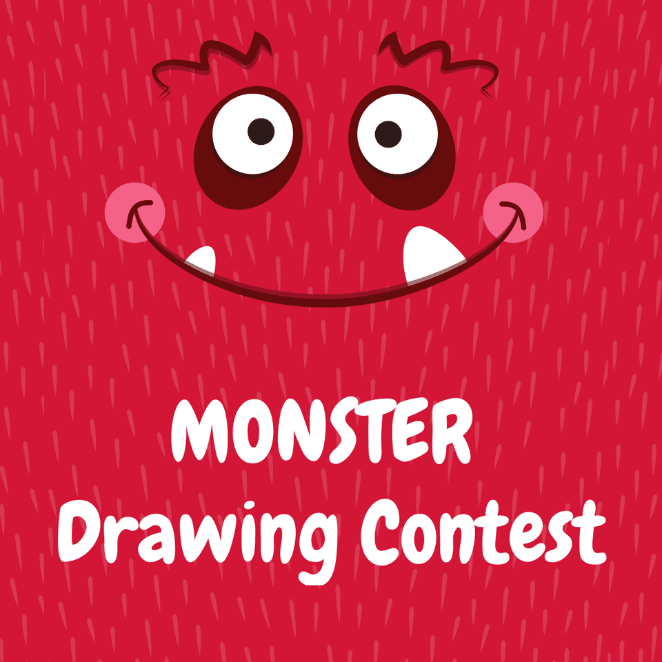 halloween-monster-drawing-contest
